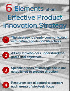 6 Elements of an Effective Product Innovation Strategy