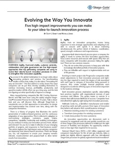 Evolving the Way You Innovate – Part 1