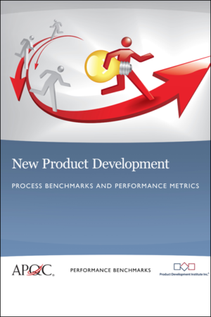 New Product Development – Process Benchmarks and Performance Metrics