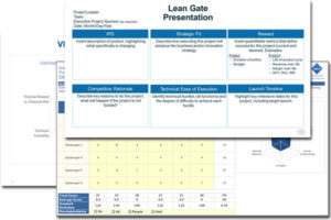 Executive Summary Gate Deliverable Templates