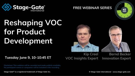 Reshaping VOC for Product Development