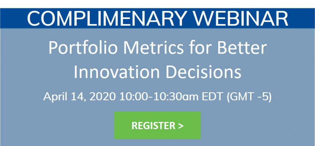 Portfolio Metrics for Better Innovation Decisions