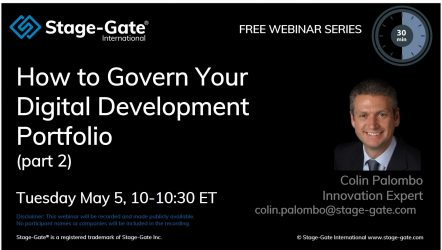 How to Govern Your Digital Development Portfolio - part 2