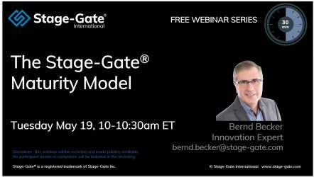 Stage-Gate Maturity Model