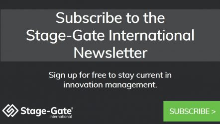 Stage-Gate Newsletter Subscription